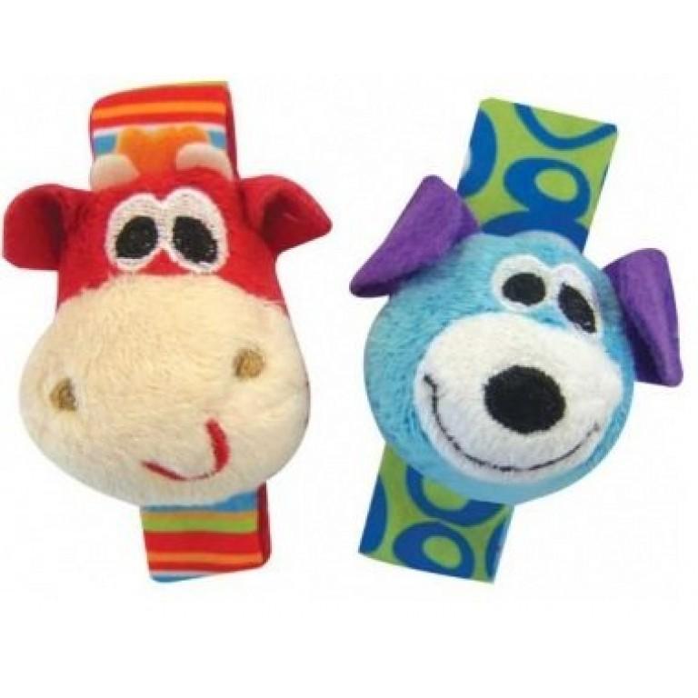 Купить - PLAYGRO Набор мягких игрушек на ручку (0181581)