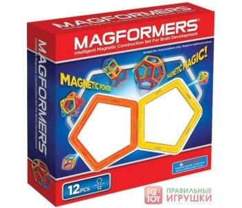 Магнитный конструктор MAGFORMERS 12 (63071)