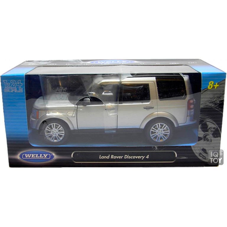 Машинка WELLY 1:24 Land Rover Discovery 4 (24008)